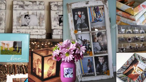 17 DIY Picture Frames | DIY Joy Projects and Crafts Ideas