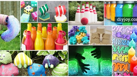 23 Fun Outdoor Crafts for Kids | DIY Joy Projects and Crafts Ideas