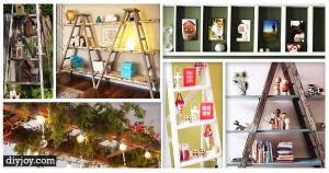 45 Ingenious Ways To Vamp Up Your Vintage Decor with Ladders