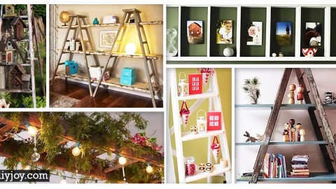 45 ingenious ways to vamp up your vintage decor with ladders diy joy projects and - Vintage Decor