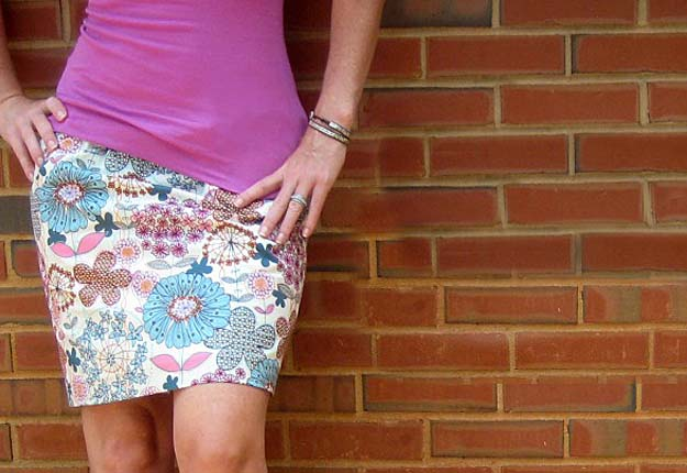 Simple DIY Projects & Sewing Ideas for Women - DIY Skirt Pattern & Tutorial - DIY Projects & Crafts by DIY JOY #diy #quickcrafts #crafts #easycraftss