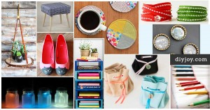 50 DIY Projects To Make in Under an Hour