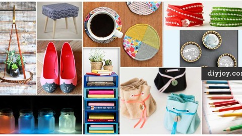 50 DIY Projects To Make in Under an Hour | DIY Joy Projects and Crafts Ideas