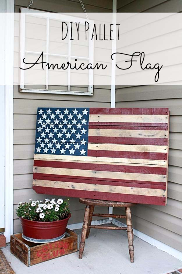 Country star bathroom ideas - American Flag Inspired Diy Projects To Show Your Patriotic Side Diy