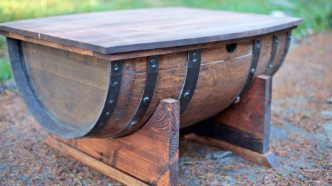 Brilliantly Inspired DIY Projects From Old Barrels You'll Love | DIY Joy Projects and Crafts Ideas