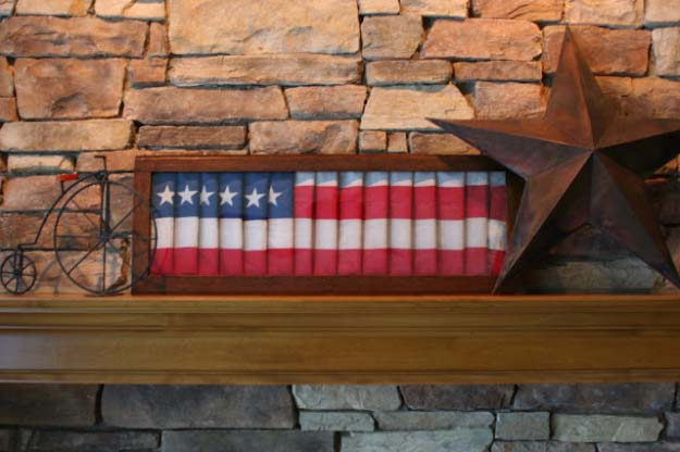rustic diy ideas with the american flag patriotic flag country crafts and diy projects for