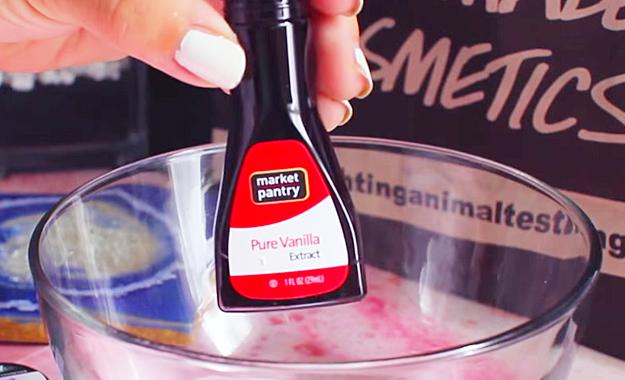 Ingredients for Making Homemade Lip Scrub DYI Craft Tutorial