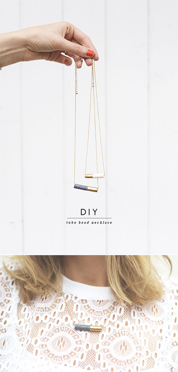 Easy DIY Gifts for Girls | Cute Crafts for Teens to Make | Unique DIY Necklace Best DIY Gifts for Teens | Easy Crafts for Teens to Make | DIY Neclace Organizer | DIY Projects & Crafts by DIY JOY at http://diyjoy.com/cheap-diy-gifts-ideas