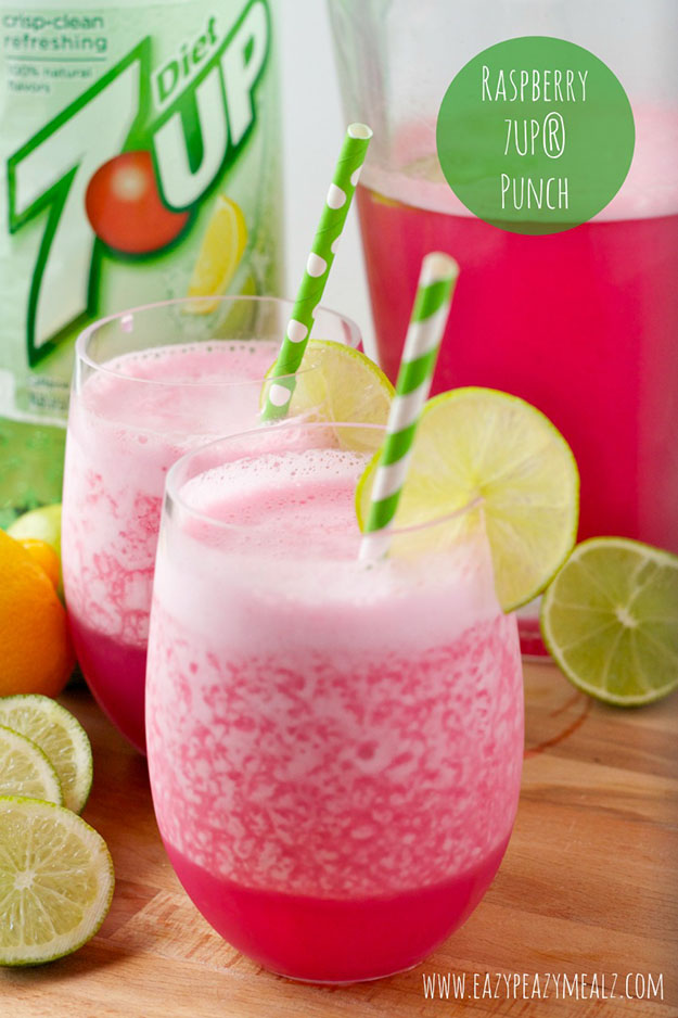 Easy Party Food Recipes for Kids | Non-Alcoholic Drink Recipes for a Crowd | DIY Projects & Crafts by DIY JOY #appetizers #partyfood #recipes