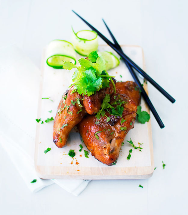 Easy Party Food Ideas | Teriyaki Chicken Wings Recipe | DIY Projects & Crafts by DIY JOY #appetizers #partyfood #recipes