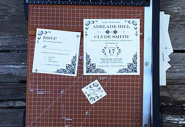 Rustic DIY Wedding Invitation Ideas - Easy Lace Doily Envelopes - DIY Projects & Crafts by
