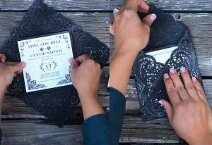 Cheap Rustic DIY Wedding Invitations Ideas - Easy Country Wedding ...
