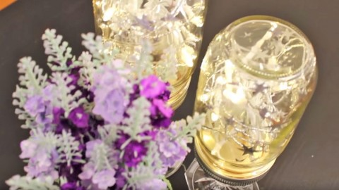 Brighten Up Any Room With DIY Mason Jar Lights | DIY Joy Projects and Crafts Ideas