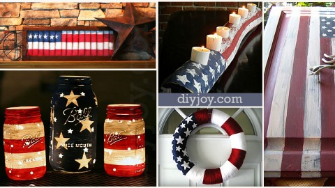 American Flag Inspired DIY Projects to Show Your Patriotic Side | DIY Joy Projects and Crafts Ideas