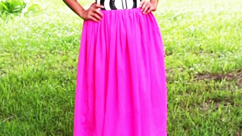 How To Make a Maxi Skirt | DIY Joy Projects and Crafts Ideas