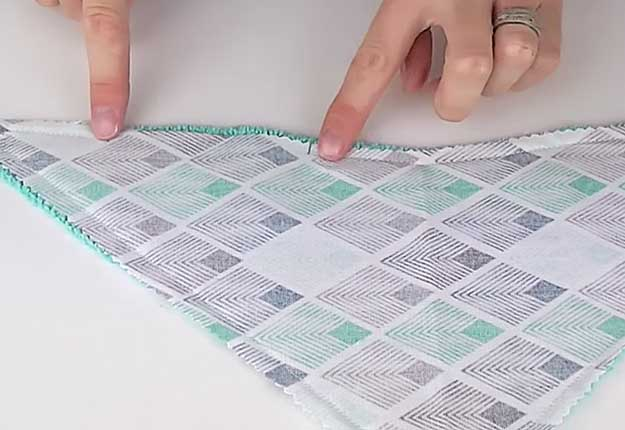 How To Sew A Diy Bandana Bib