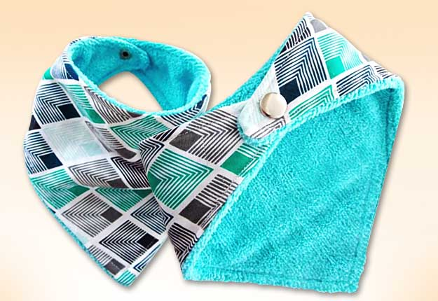 How To Sew A Diy Bandana Bib