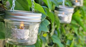 How to Make Mini Mason Jar Lanterns