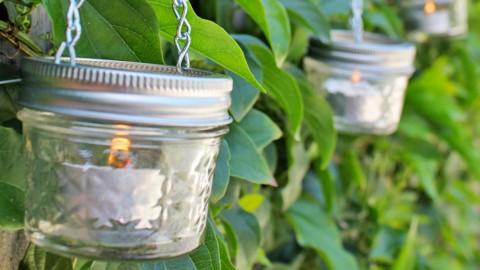 How to Make Mini Mason Jar Lanterns | DIY Joy Projects and Crafts Ideas