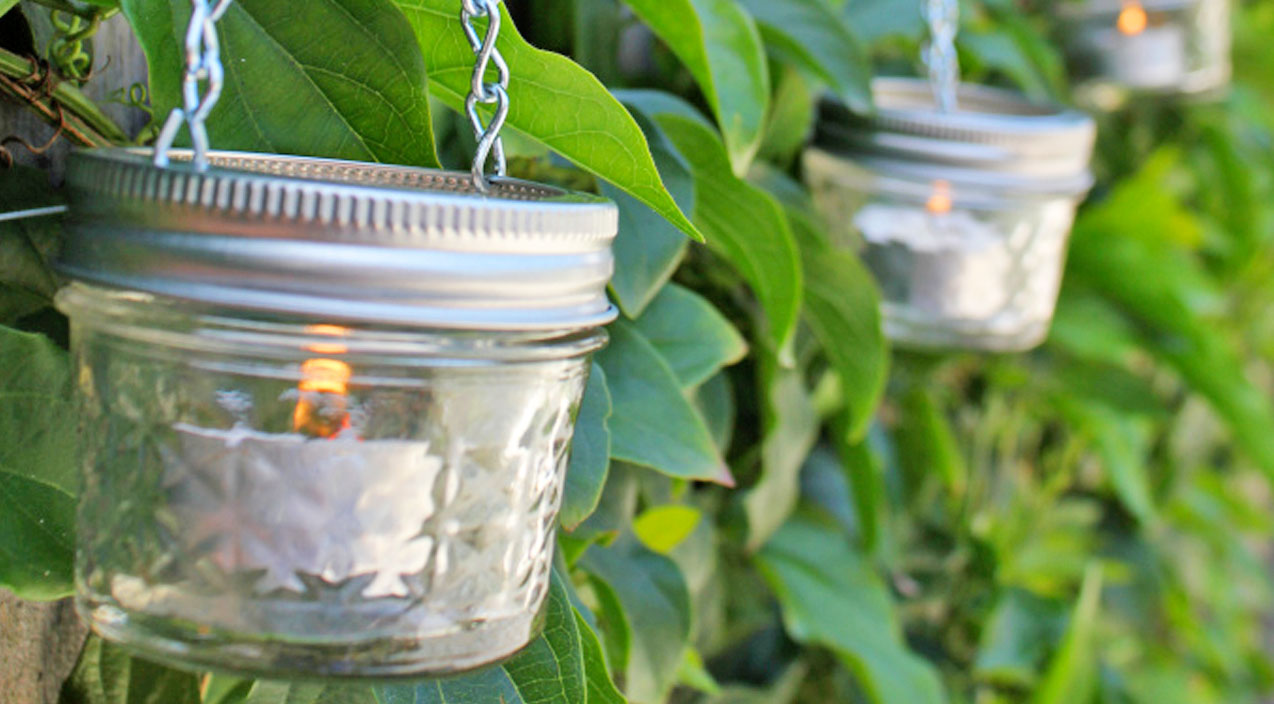 Mini Mason Jar Lanterns Are The Newest Diy Craze