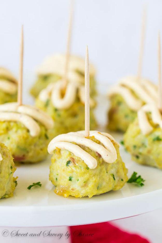 Easy DIY Party Food Ideas | Chicken & Bacon Meatballs Recipe | DIY Projects & Crafts by DIY JOY #appetizers #partyfood #recipes