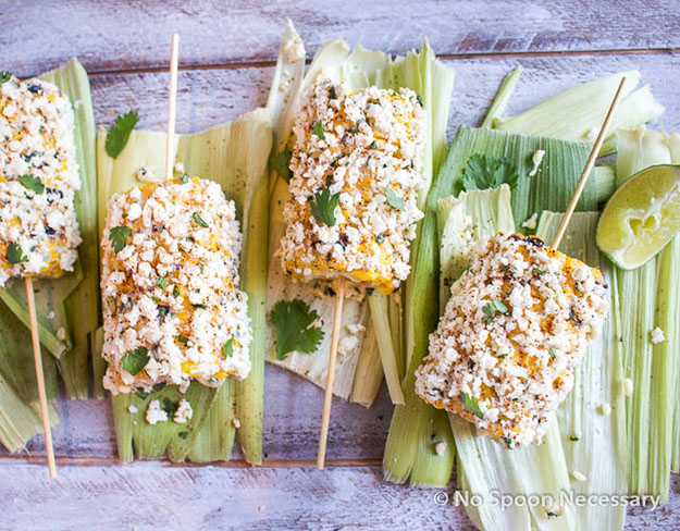 Easy Party Food Ideas | Quick & Easy Recipe for Mexican Street Corn | DIY Projects and Crafts by DIY JOY #appetizers #partyfood #recipes