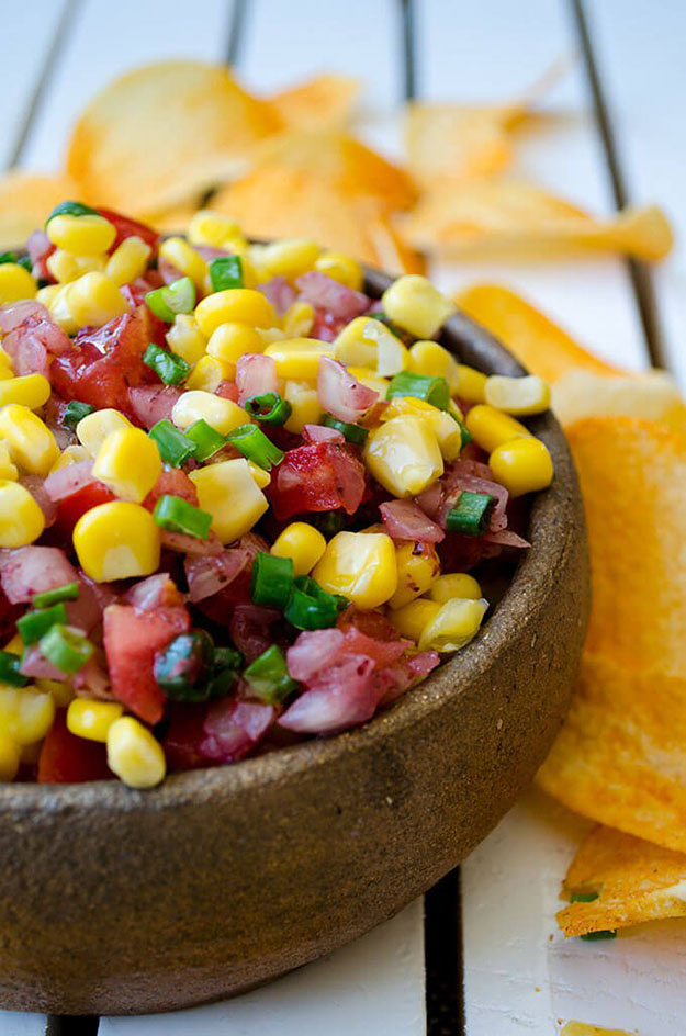 Easy Party Food Ideas | Best Salsa Recipe for a Crowd | DIY Projects and Crafts by DIY JOY #appetizers #partyfood #recipes