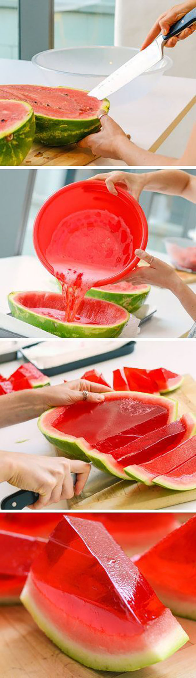 Easy Party Food Ideas | Make Ahead Cocktails | Watermelon Jello Shot Recipe | DIY Projects & Crafts by DIY JOY #appetizers #partyfood #recipes