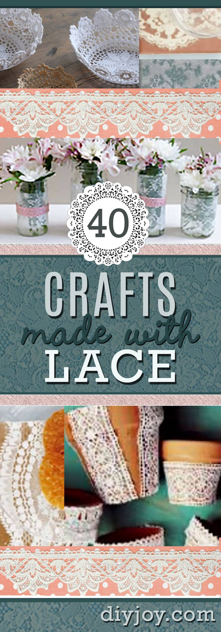 40 adorable diy projects with lace youll fall in love with diy projects made with lace solutioingenieria Images