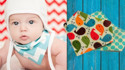 How to Sew a DIY Bandana Bib | DIY Joy Projects and Crafts Ideas