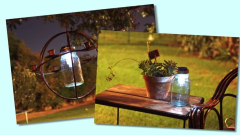 Easy DIY Outdoor Mason Jar Solar Lights Your Patio Will Be Proud Of | DIY Joy Projects and Crafts Ideas