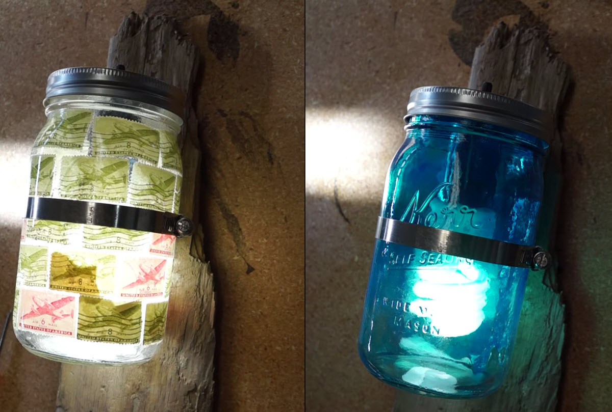 5 Minute DIY Mason Jar Wall Sconce Your Home is Begging You For - DIY Joy