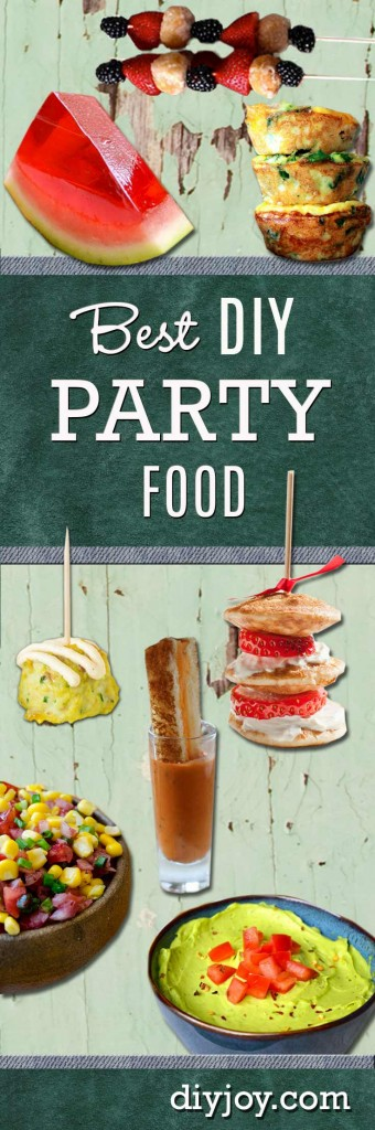 Best DIY Party Food Ideas and Recipes at http://diyjoy.com/best-4th-of-july-recipes-ideas