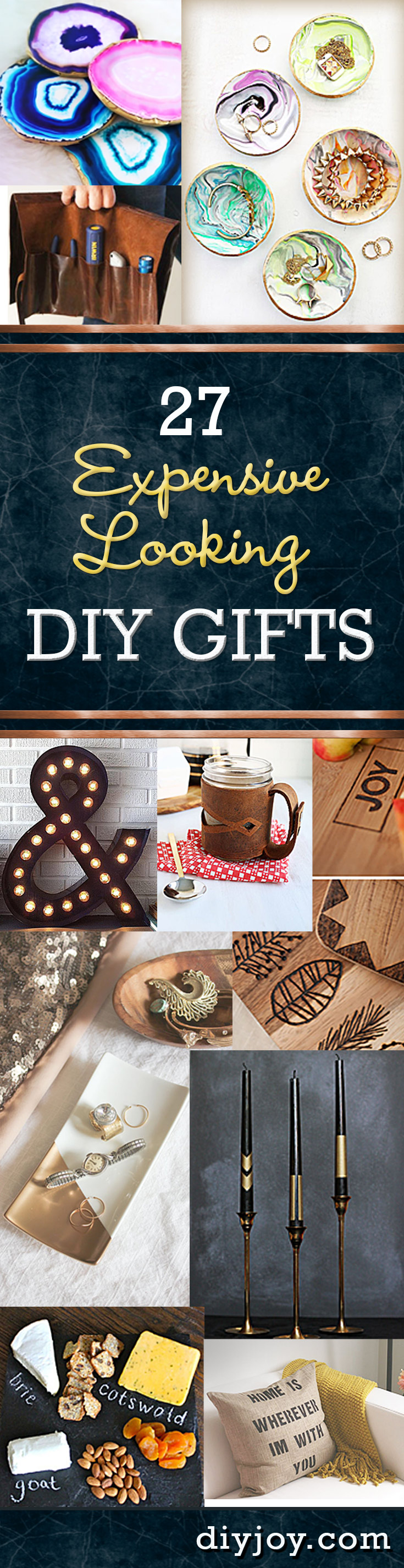 Inexpensive DIY Gifts To Make For Christmas & Birthdays | DIY JOY Crafts