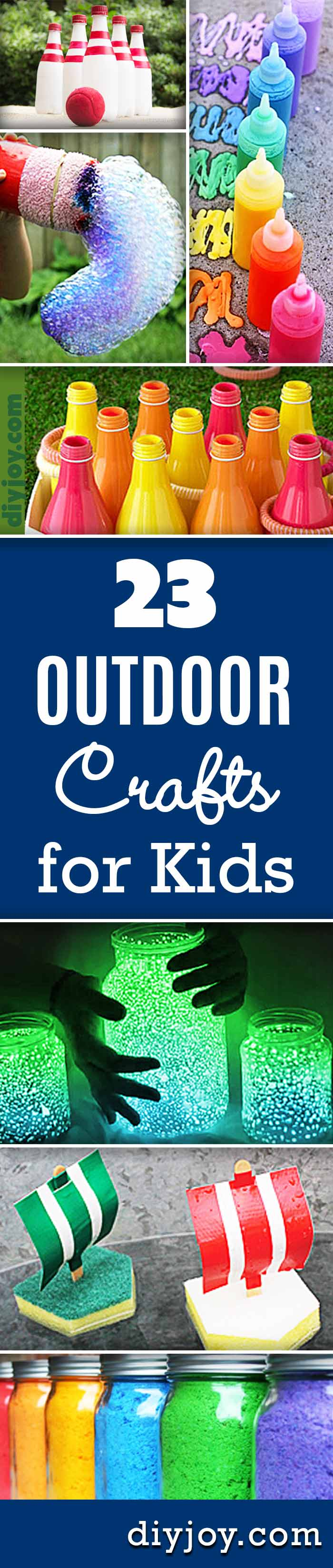 23 Incredibly Fun Outdoor Crafts For Kids