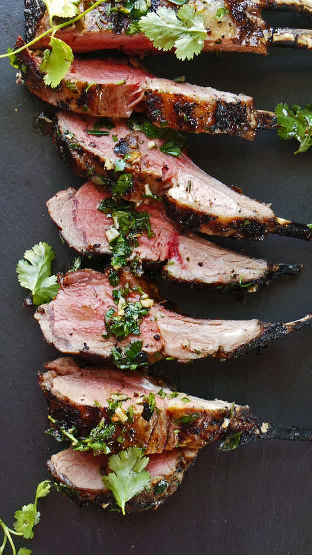 Healthy Grilling Recipes | Best Spiced Grilled Lamb Recipe | DIY Projects & Crafts by DIY JOY at http://diyjoy.com/grilling-recipes-diy-bbq-ideas