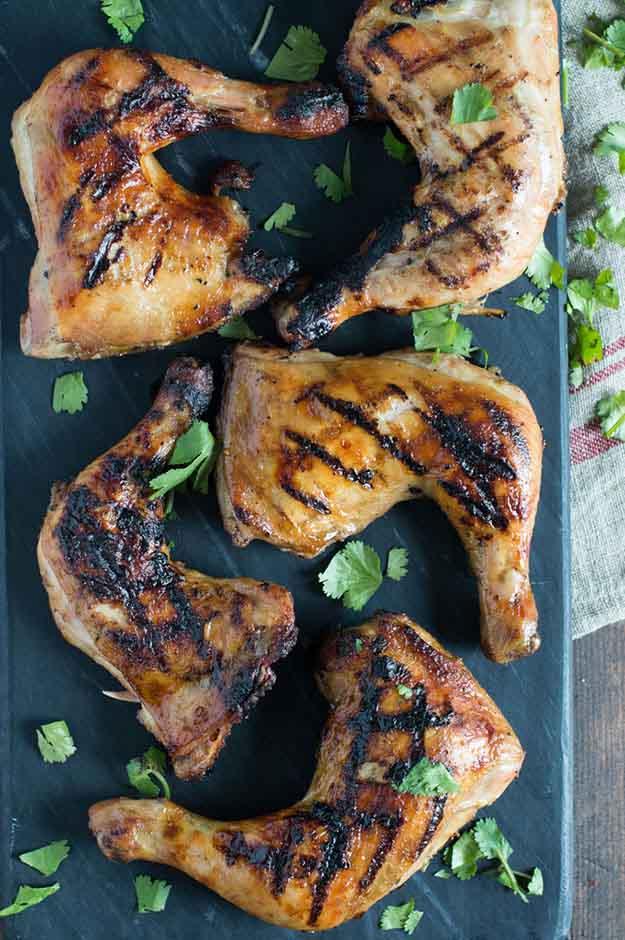 BBQ Chicken Recipe Ideas | Easy Chicken Grilling Recipes | Harissa & DIjon Grilled Chicken Recipe | DIY Projects & Crafts by DIY JOY at http://diyjoy.com/grilling-recipes-diy-bbq-ideas