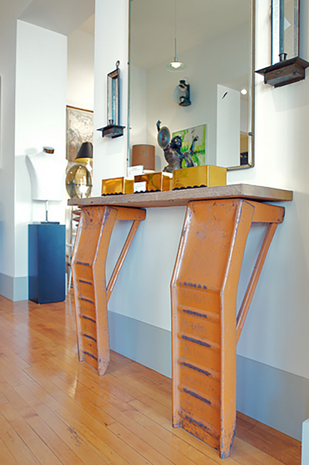 Old Car Parts Recycled - DIY Car Ramp Bar Stand - DIY Projects & Crafts by DIY JOY #diy
