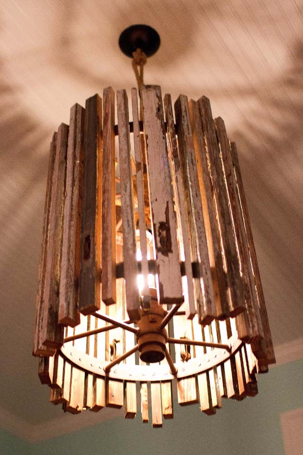 28 dreamy diy lighting projects you ll adore for Diy pendant light
