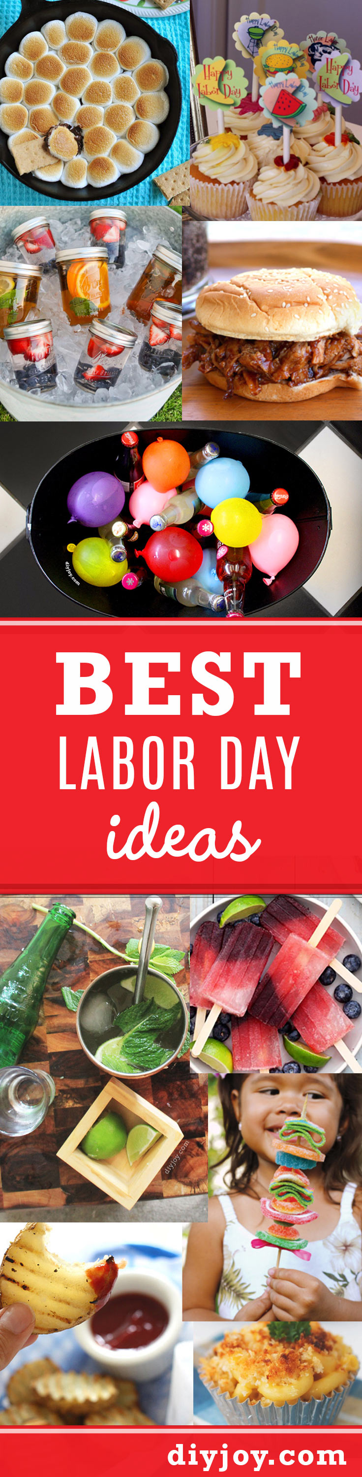 quick & easy diy ideas to make your labor day celebration special