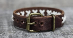 You Won't Believe this Awesome DIY Leather Bracelet Was Made from Old Shoes