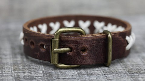 You Won T Believe This Awesome Diy Leather Bracelet Was Made