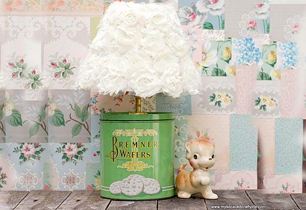 Easy DIY Projects & Lighting Ideas for the Home - Upcycled Tin Can Lamp - DIY Projects & Crafts by DIY JOY #diy #quickcrafts #crafts #easycraftss
