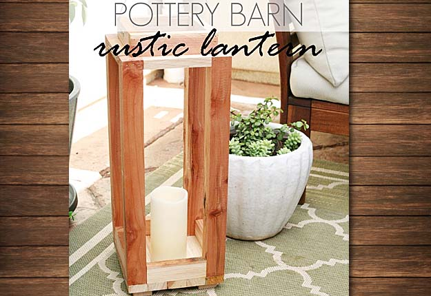 Cheap DIY Projects for the Home - DIY Lanterns & Pottery Barn Hack - DIY Projects & Crafts by DIY JOY #diy #quickcrafts #crafts #easycraftss