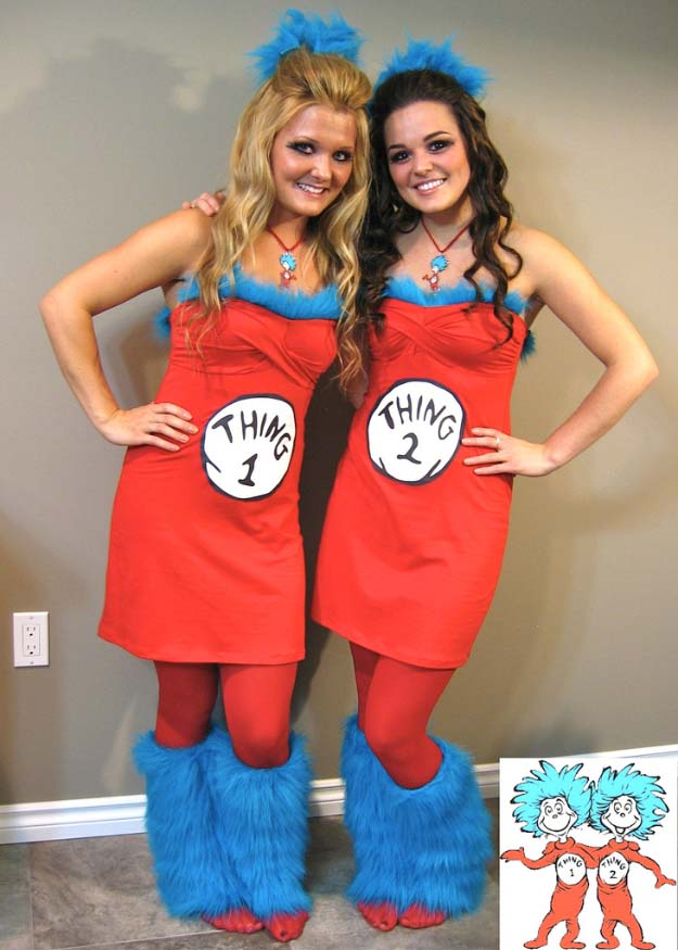 Last Minute DIY Halloween Costumes - Quick Ideas for Adults Kids and Teens - Thing  sc 1 st  DIY Joy & Last Minute DIY Halloween Costumes - Quick Ideas for Adults Kids ...