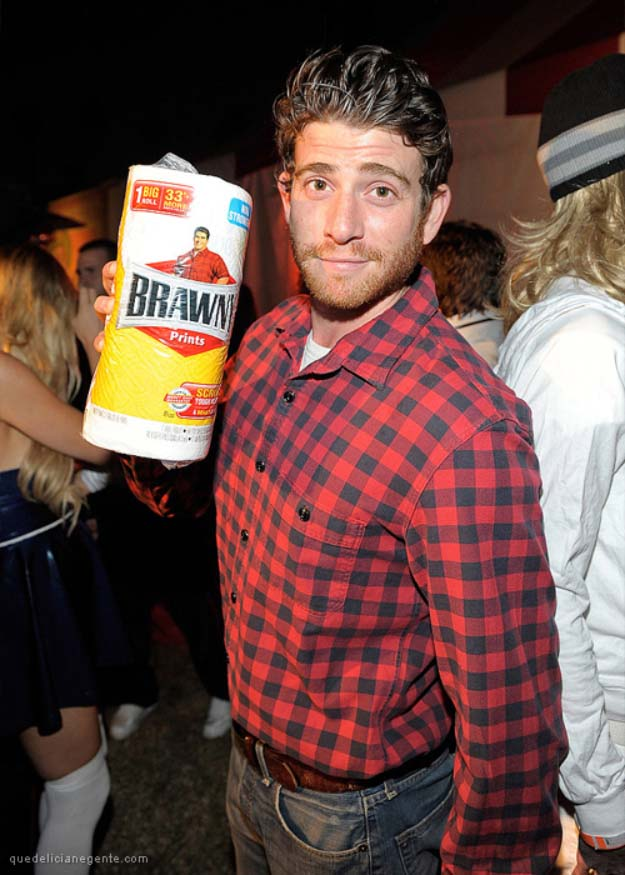 Last Minute DIY Halloween Costumes - Quick Ideas for Adults, Kids and Teens - Brawny Man Costume Tutorial