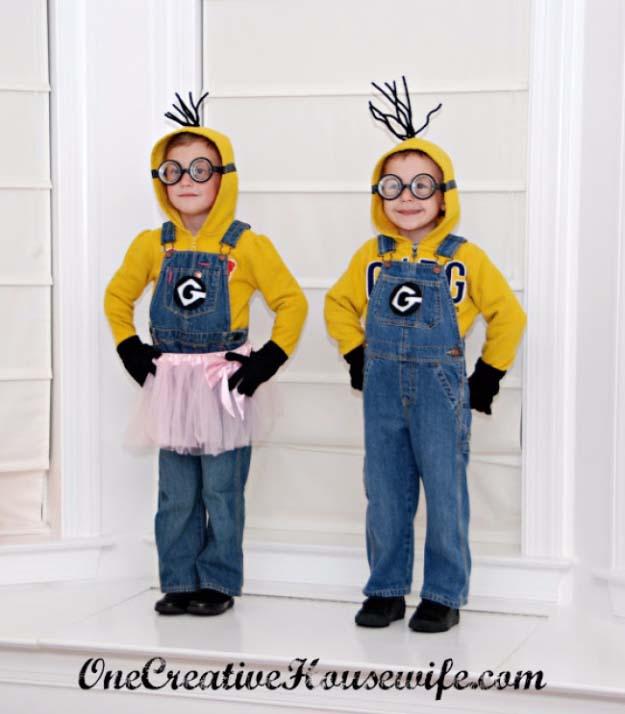 Minion Halloween Costumes For Girls.36 Last Minute Diy Halloween Costumes