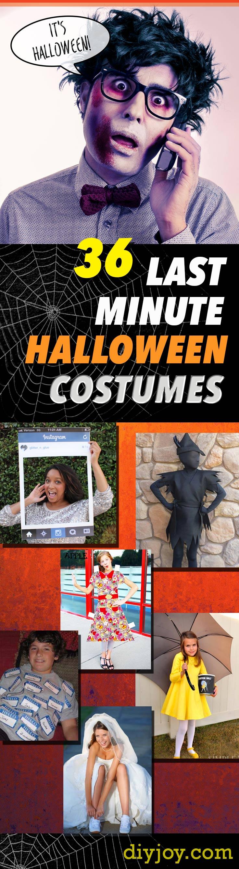 36 last minute diy halloween costumes. Black Bedroom Furniture Sets. Home Design Ideas