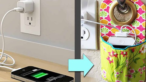 Stylish & Simple DIY Will Change How You Charge Your Phone Forever! | DIY Joy Projects and Crafts Ideas