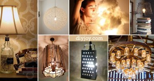 28 Dreamy DIY Lighting Projects You'll Adore